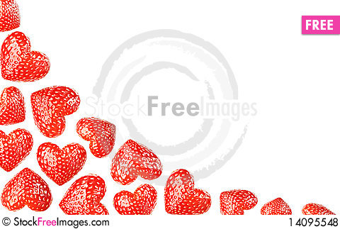 Free Hearts Background Royalty Free Stock Photos - 14095548