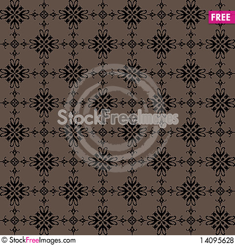 Free Retro Seamless Background Royalty Free Stock Photos - 14095628