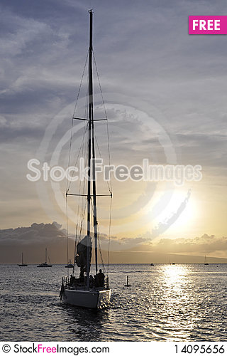 Free Back To Port Royalty Free Stock Image - 14095656
