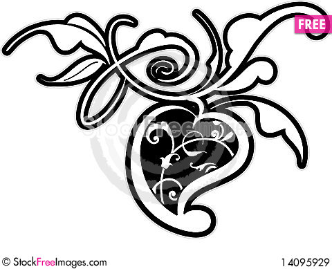 Free Floral Design Element Royalty Free Stock Images - 14095929