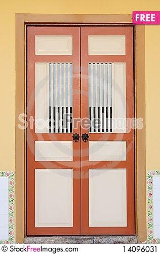 Free Penang - The Door Stock Image - 14096031