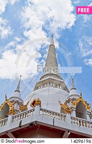 Free Thai Temple Royalty Free Stock Image - 14096196