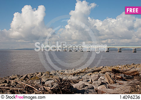 Free Severn Beach Royalty Free Stock Image - 14096236