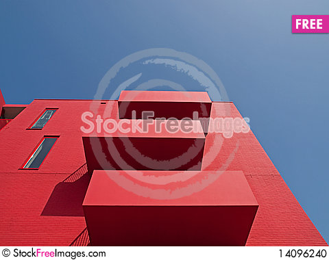 Free Red Apartments Stock Photo - 14096240
