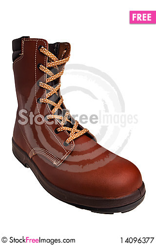 Free Industrial Safety Boot. Royalty Free Stock Photography - 14096377