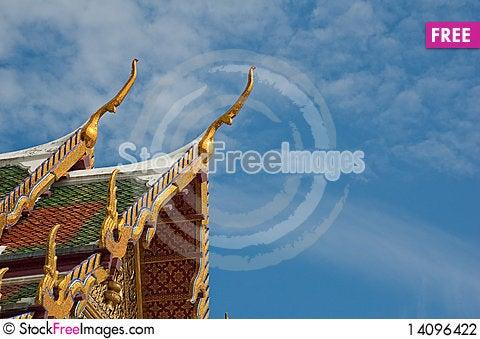 Free Wat Phara Kaew Stock Photography - 14096422