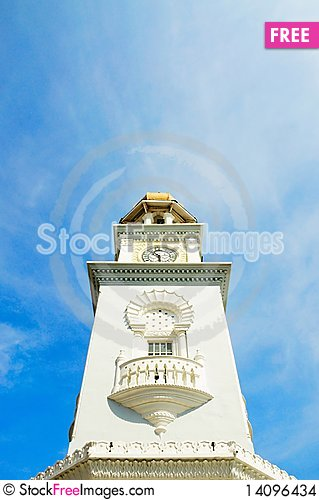 Free Penang - Clock Tower Stock Images - 14096434