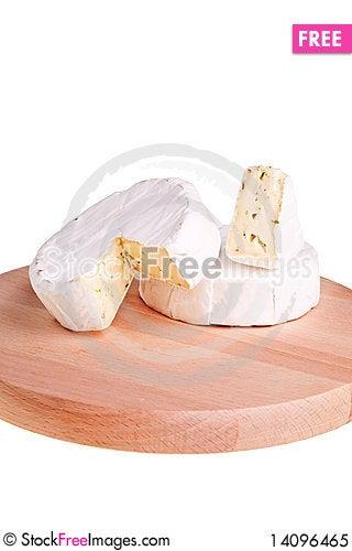 Free Camembert Round Cheese. Royalty Free Stock Photo - 14096465