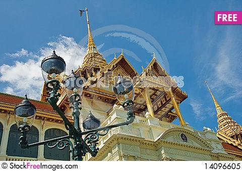 Free Wat Phara Kaew Royalty Free Stock Photo - 14096605