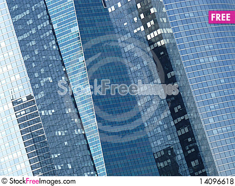 Free Architecture Sykscrapers Window Royalty Free Stock Photos - 14096618
