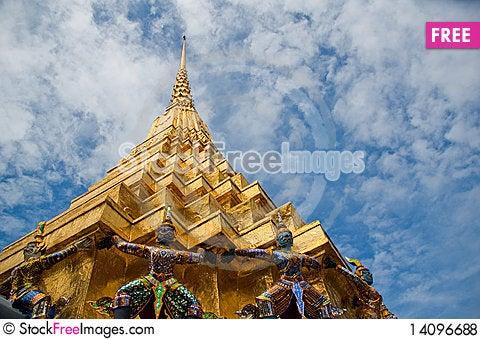 Free Wat Phara Kaew Royalty Free Stock Photos - 14096688