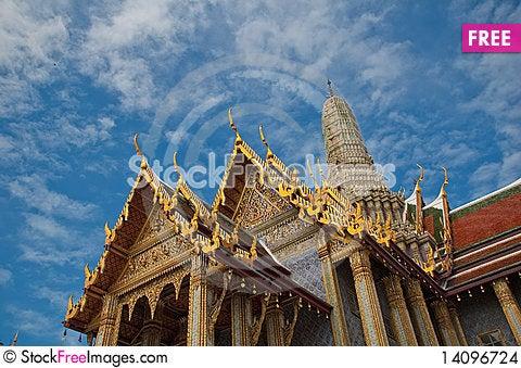Free Wat Phara Kaew Stock Images - 14096724