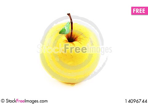 Free Golden Apple Stock Images - 14096744