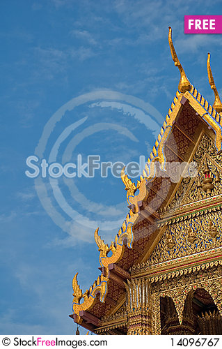 Free Wat Phara Kaew Royalty Free Stock Photography - 14096767