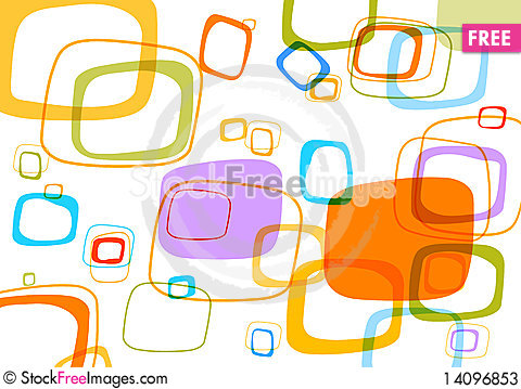 Free Colored Abstract Background. Stock Photos - 14096853