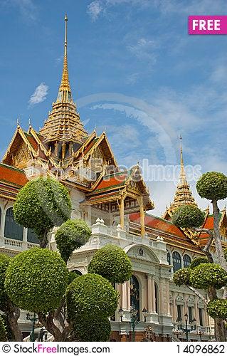 Free Wat Phara Kaew Stock Photography - 14096862