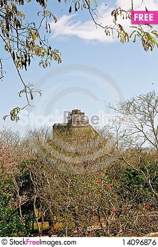 Free Mayan Ruins Royalty Free Stock Image - 14096876