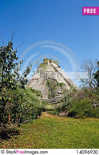 Free Mayan Ruins Stock Photo - 14096930