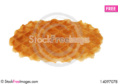 Free Cookies On White Royalty Free Stock Photos - 14097078