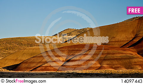 Free Painted Hills Stock Photos - 14097443