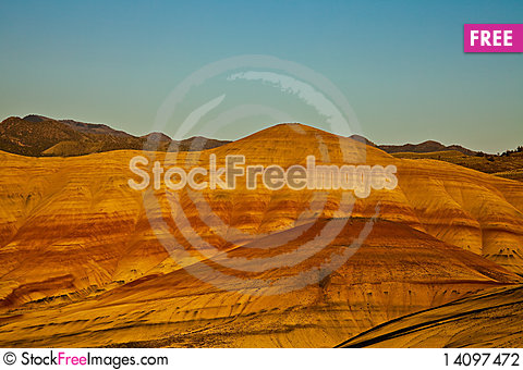 Free Painted Hills Stock Photography - 14097472