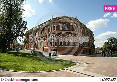 Free Moscow, Museum-Reserve Tsaritsyno Royalty Free Stock Photography - 14097487