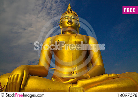 Free Big Buddha Royalty Free Stock Photos - 14097578