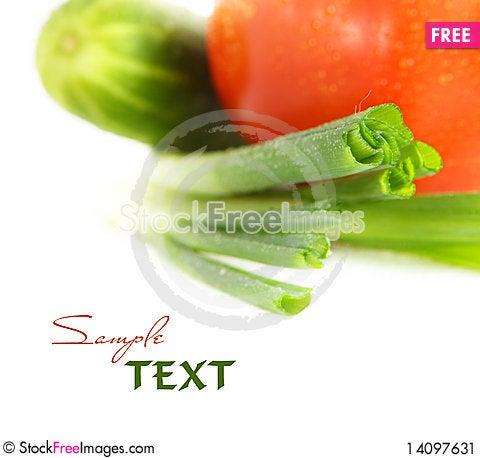 Free Vegetables. Shallow DOF Stock Image - 14097631