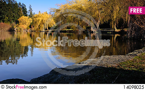 Free Lost Lagoon In The Morning Royalty Free Stock Photo - 14098025