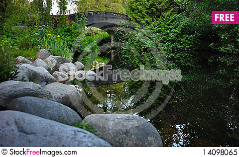 Free Lost Lagoon Stream Royalty Free Stock Photo - 14098065