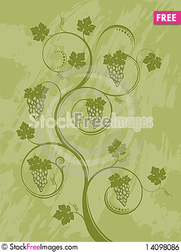 Free Abstract Floral Background Royalty Free Stock Image - 14098086