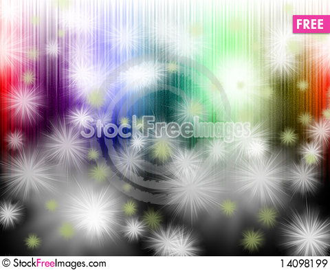 Free Abstract Colorful Light Background Royalty Free Stock Images - 14098199