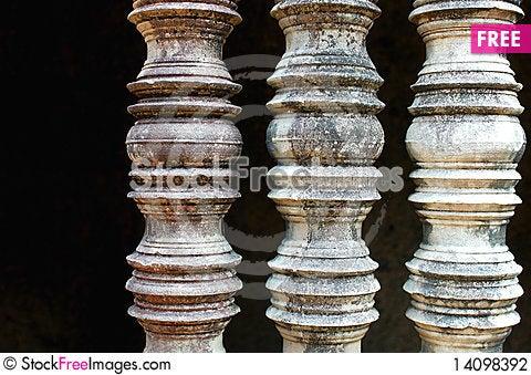 Free Relics At Angkor,Cambodia Stock Photography - 14098392