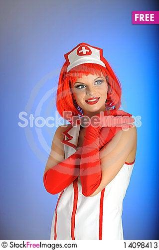 Free Young Beautiful Sexy Nurse Stock Photos - 14098413