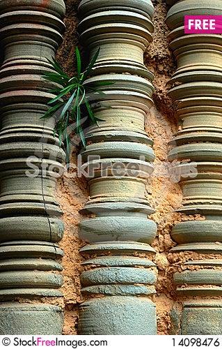 Free Relics At Angkor,Cambodia Royalty Free Stock Image - 14098476