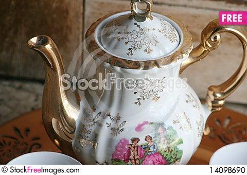 Free Tea Set Stock Photo - 14098690