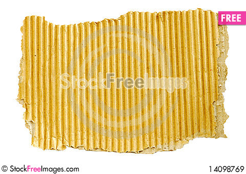 Free Old Cardboard Scrap Royalty Free Stock Images - 14098769