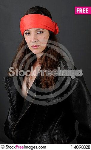 Free Tough Woman Royalty Free Stock Photos - 14098828