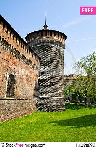 Free Castle In Milan Stock Photos - 14098893