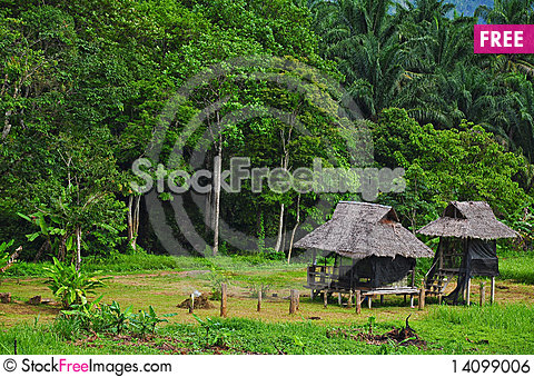 Free Hut Royalty Free Stock Image - 14099006