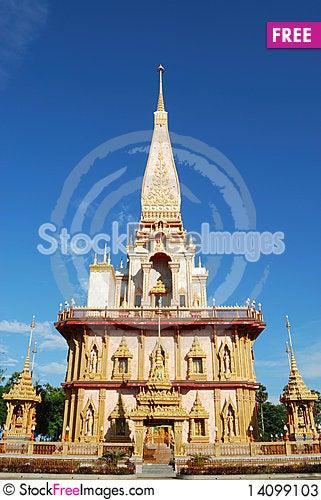 Free Buddhist Temple Stock Photos - 14099103