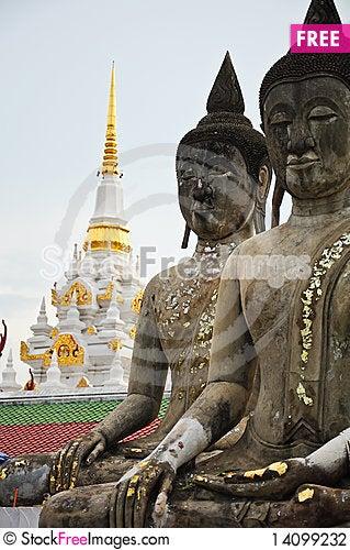 Free Stone Buddhaimage Stock Photography - 14099232