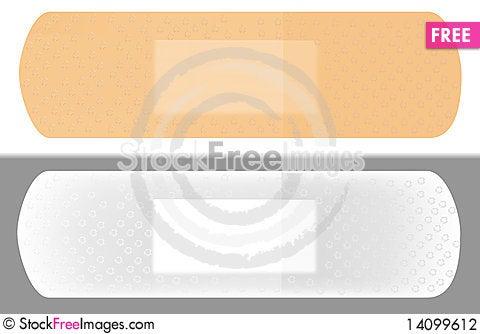 Free Adhesive Plaster Stock Photography - 14099612