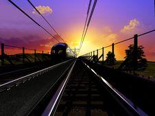 Free The Locomotive Royalty Free Stock Photo - 14090165