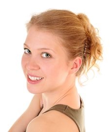 Free Smiling Trendy Girl Royalty Free Stock Photos - 14091238