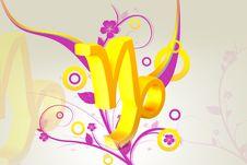Zodiac Symbol Royalty Free Stock Photos