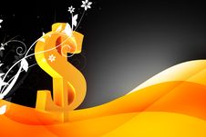 Free Dollar Sign Royalty Free Stock Image - 14091406