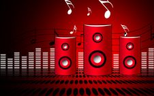 Free Speaker Stock Photography - 14091452