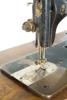 Free Sewing Machine Royalty Free Stock Image - 14092276