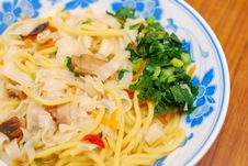 Free Chinese Style Vegetarian Noodles Stock Photos - 14092413